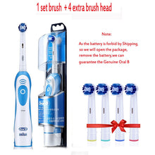 Load image into Gallery viewer, Genuine Oral B Sonic Electric Toothbrush DB4010 Remove Battery Rotating Tooth Brush Precision Clean Braun Teeth Brush Head Adult