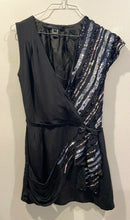 Load image into Gallery viewer, Marc Jacobs Sequin Party Asymmetrical shoulder dress xs 2/4