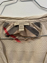 Load image into Gallery viewer, Burberry Brit Peforated Nylon Striped Tank