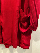 Load image into Gallery viewer, Ghost England Blood Red Lagenlook Overcoat Smock Dress