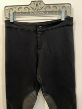 Load image into Gallery viewer, Rag & Bone Leather Panel Riding Scuba Legging Pants size 29
