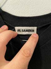 Load image into Gallery viewer, Jil Sander Black Scuba Fit Shirt