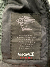 Load image into Gallery viewer, Versace Sport Reflective Logo Tech Jacket Small