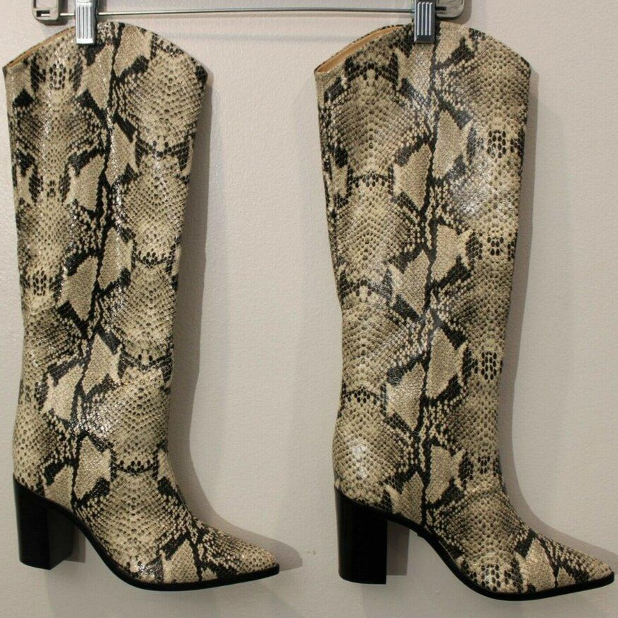 New Schuts Snakeskin leather boots
