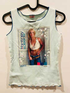 rare britney spears 8 shirt lot concert
