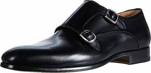 Magnanni Black Leather Shoes