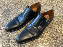 Load image into Gallery viewer, Magnanni Black Leather Shoes