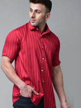 Load image into Gallery viewer, Red Stripes Shirt