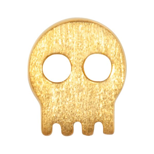 LULU Copenhagen SKULLY 1 STK Ear stud, 1 pcs Forgyldt