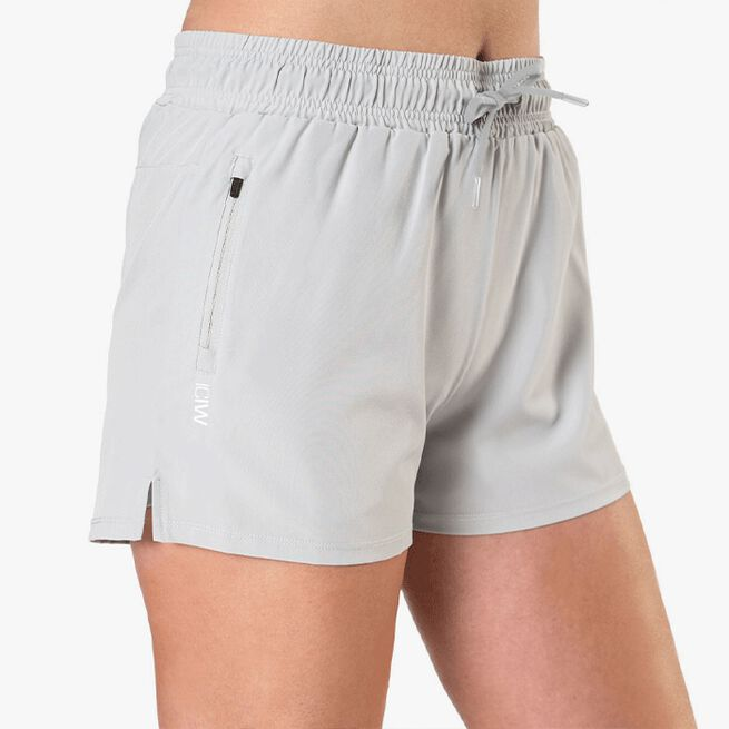 Devotion Running Shorts, Light Grey