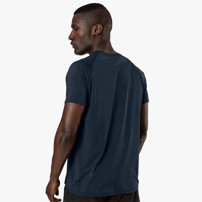 Workout Melange T-shirt, Dark Blue