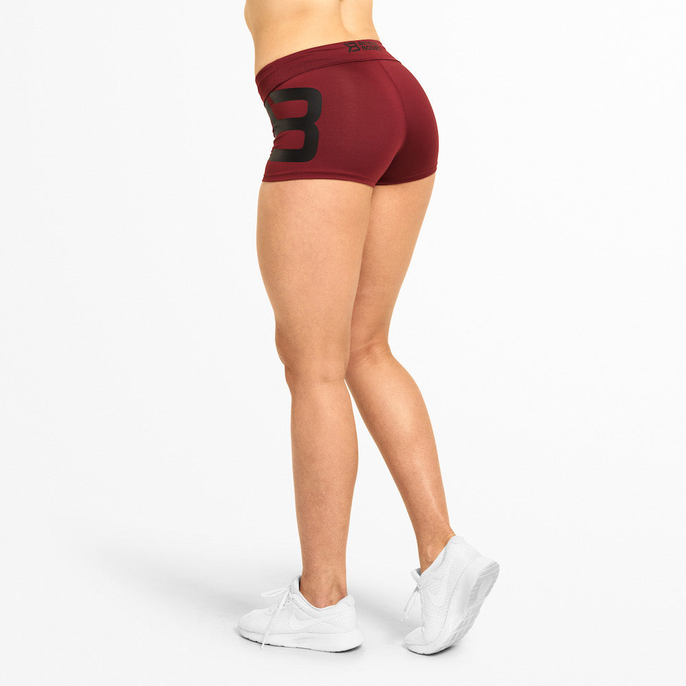 Better Bodies Gracie hotpants - Sangria red