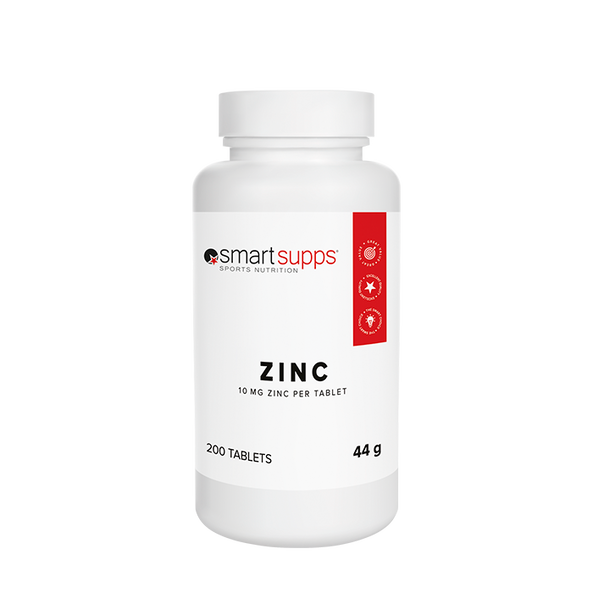 SmartSupps Zinc Citrate, 200 tabs