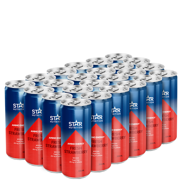 24 x Star Nutrition Amino Energy, 330 ml