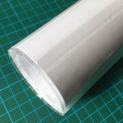 Roll artwork and seal with adhesive strip for handover at point of sale