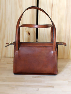 Brown Cowhide Handbag