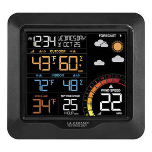 La Crosse 327-1417 Wind Speed Station with Temp & Humidity