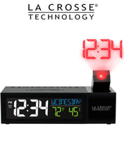 Load image into Gallery viewer, La Crosse Pop-Up Bar Projection Alarm Clock
