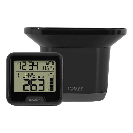 La Crosse Digital Rain Monitor with Indoor Temperature - 724-1409