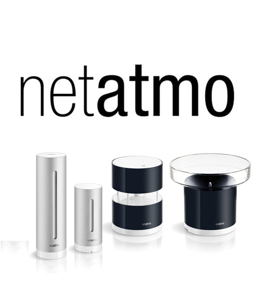 NETATMO Full Smart Weather Station Pack including Rain and Wind Gauges