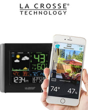 Load image into Gallery viewer, La Crosse - V10-TH WiFi Colour Weather station