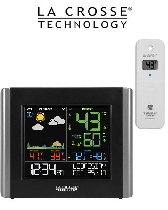 La Crosse - V10-TH WiFi Colour Weather station