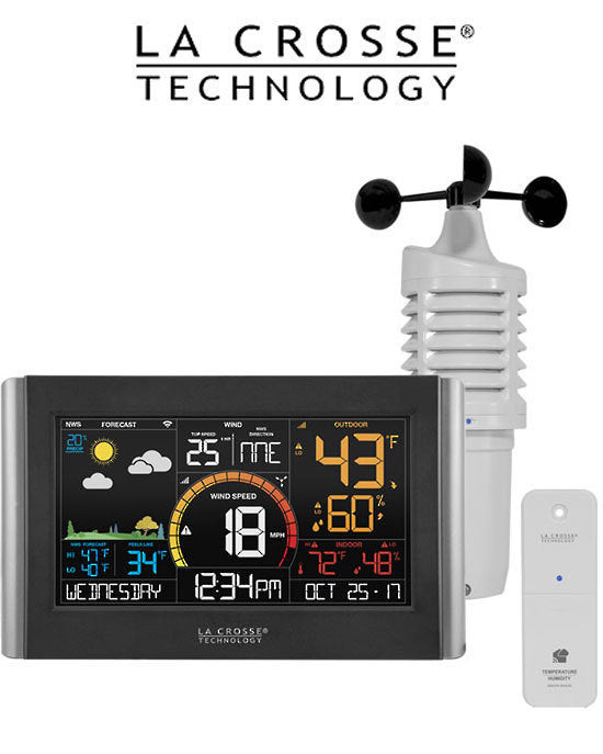 La Crosse V21-WTH WIFI Wind Speed & Temperature Humidity Station