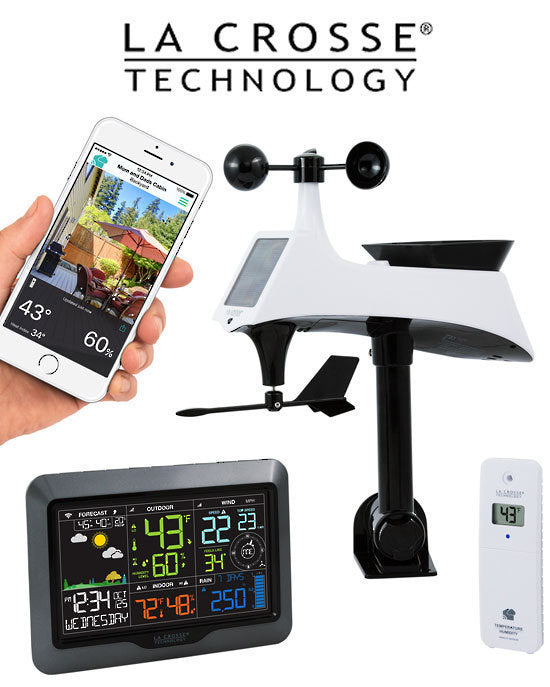 La Crosse V40-PRO WiFi -Complete Colour Weather Station