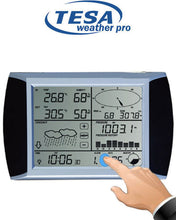Load image into Gallery viewer, Tesa WS1081 Ver3. Complete Weather Station with Solar Panel & PC interface