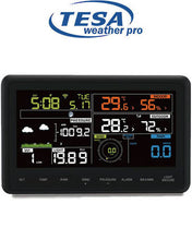 "Load image into Gallery viewer, Tesa WS-2980c PRO TESA Prof 7"" Colour WIFI Weather Station"