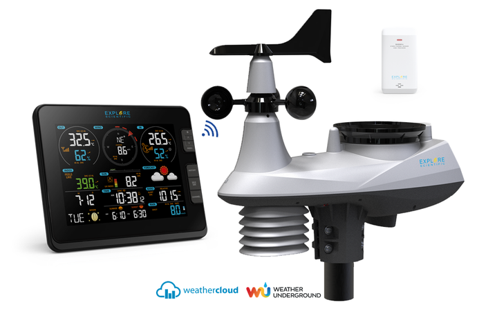 Explore Scientific WSX3001 7-In-1 Professional Weather Station