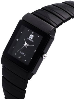Watches Analogue Black Dial Men's and Boy's Watch