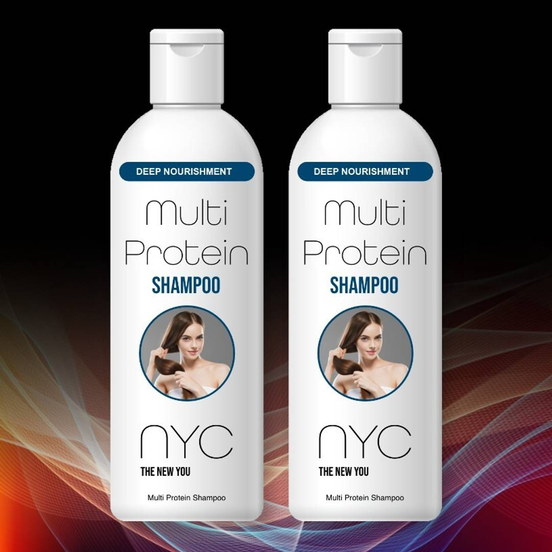 NYC Multi Protein Shampoo - (Pack of 2)
