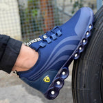Men's Mesh Stylish Blue Sports Shoes