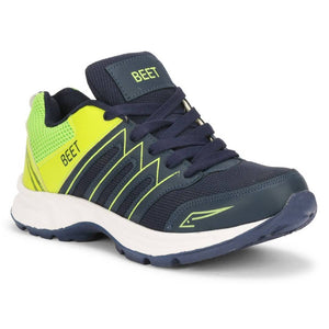 Stylish Men's Navy Mesh Sport Running Shoes
