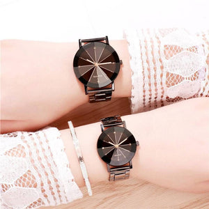 Stylish and Trendy Metal Strap Analog Watch for Couples
