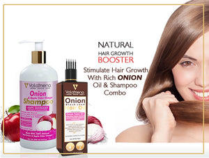 Onion Shampoo With Onion Hair Oil