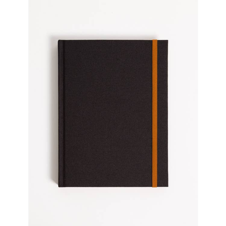 Abstract Terracotta Hardcover Sectional Journal