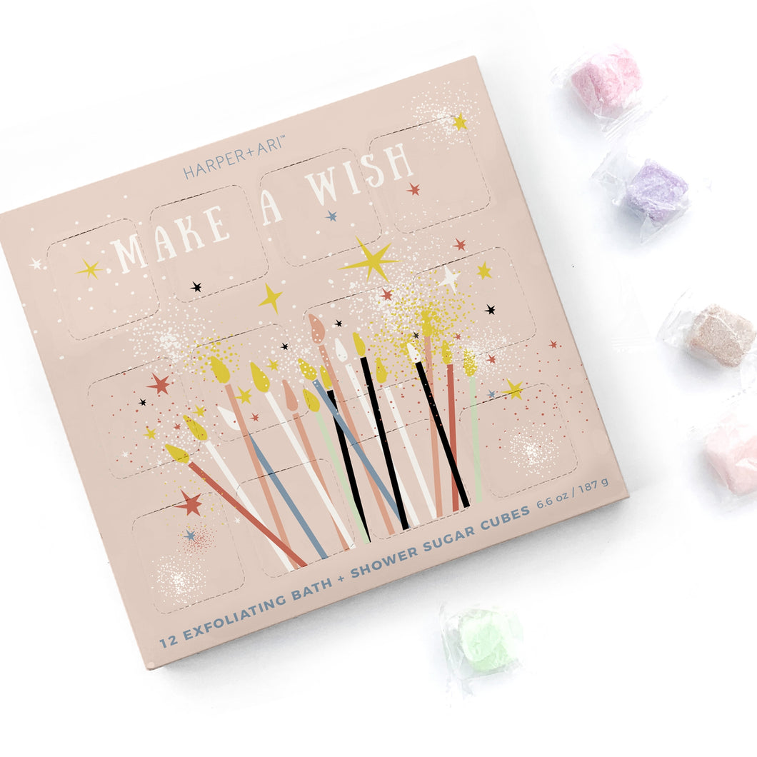 Exfoliating Sugar Cubes Make-A-Wish Gift Box - T E R R A