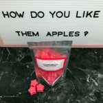 """HOW DO YOU LIKE THEM APPLES?"" Apple Harvest Para-Soy Blend Star Wax Melts 3oz."