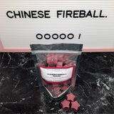 """CHINESE FIREBALL. OOOOO"" Dragon's Blood Para-Soy Blend Star Wax Melts 3oz."