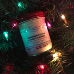 """REINDEER LOVE CANDY CANES"" Peppermint Para-Soy Blend Candle 6oz."