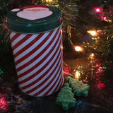 """DAD, DID YOU BRING A SAW?"" Frasier Fir Christmas Tree Wax Melts 3oz. in Holiday Tin"