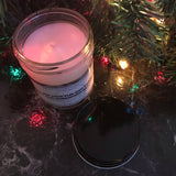 """NOT THE BUTTONS! NOT THE GUMDROP BUTTONS!"" Gingerbread Para-Soy Blend Candle 6oz."