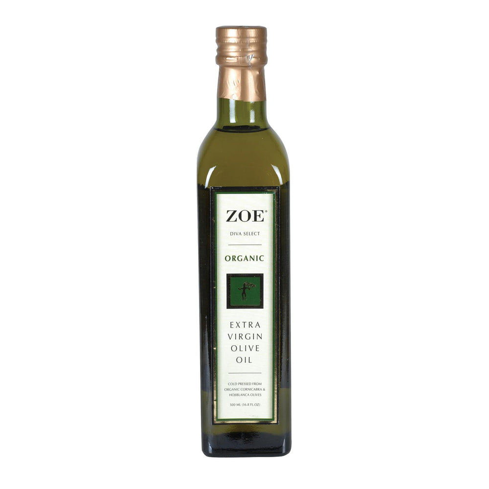 Zoe - Extra Virgin Olive Oil - Case Of 6 - 500 Ml