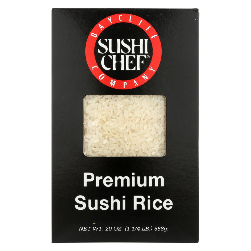 Sushi Chef Premium Sushi Rice - Case Of 6 - 20 Oz.