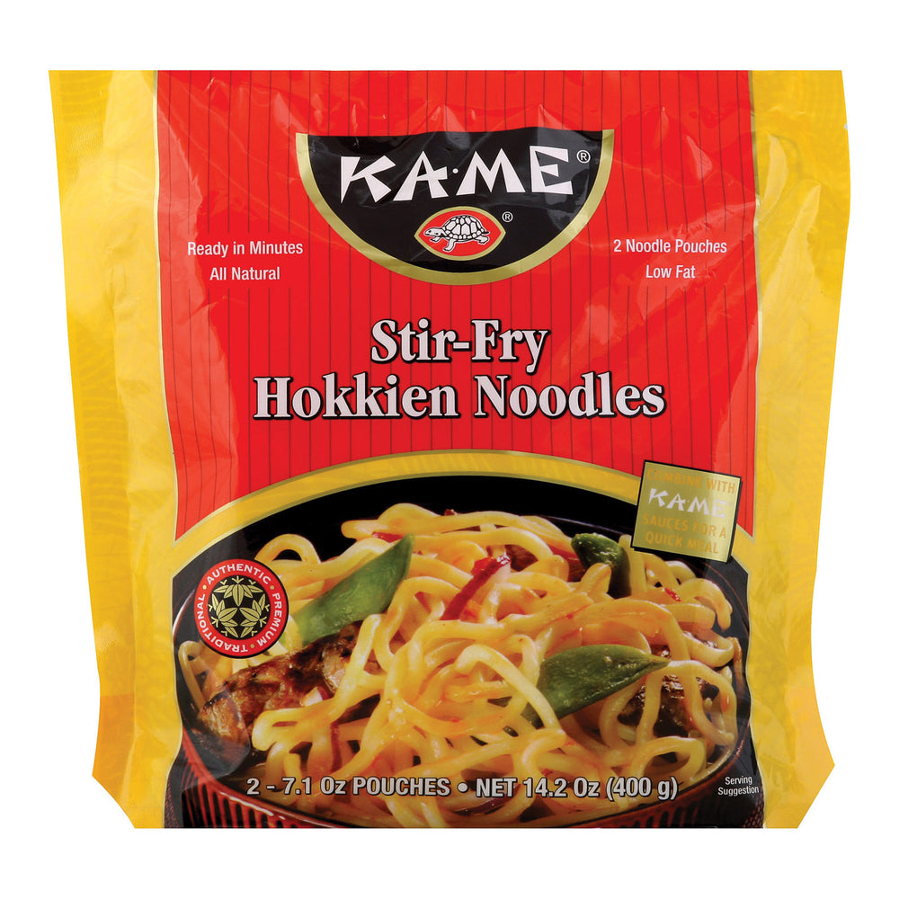 Ka'me Stir Fry Hokkien Noodles - Case Of 6 - 14.2 Oz.