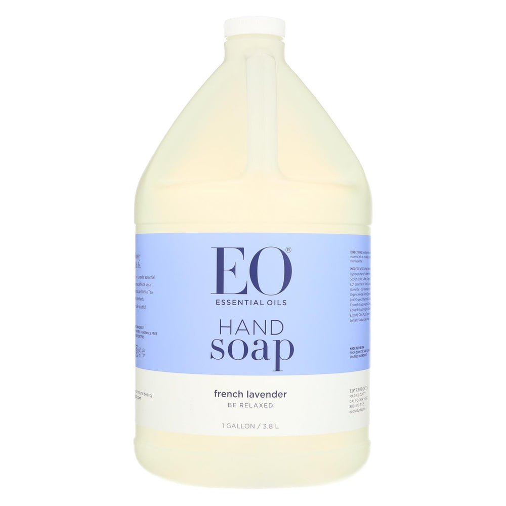 Eo Products - Liquid Hand Soap French Lavender - 1 Gallon