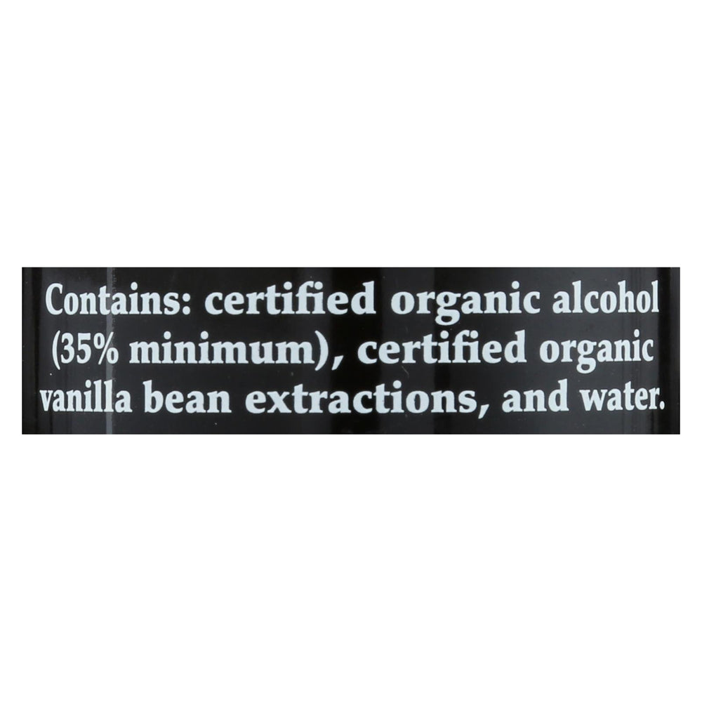 M&b Spices Organic Pure Vanilla Extract - Case Of 3 - 4 Oz