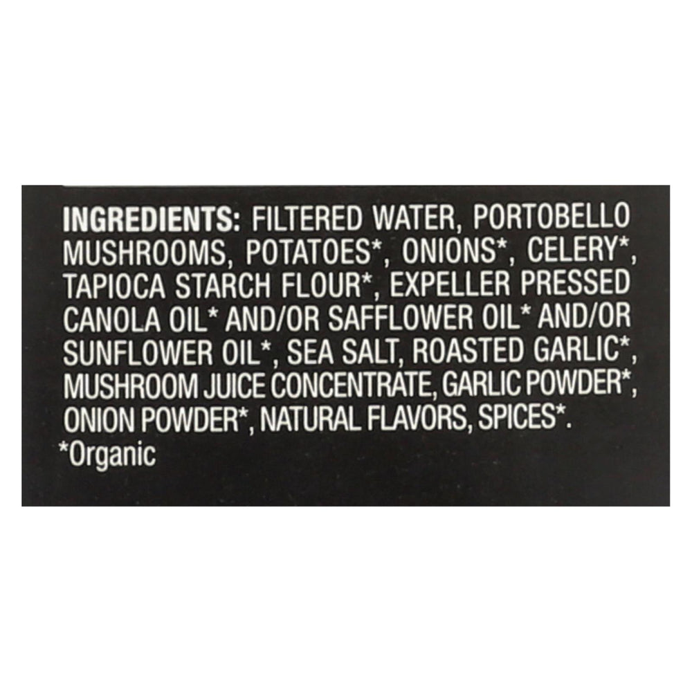 Imagine Foods Portobello Mushroom Soup - Creamy - Case Of 12 - 32 Fl Oz.